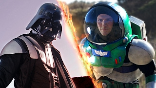 Darth Vader VS Buzz Lightyear