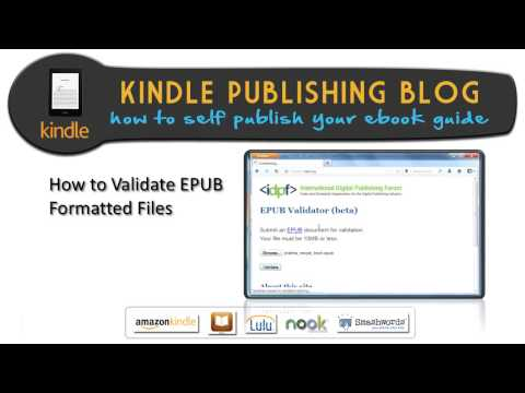 11.Ultimate Ebook Creator How to Validate EPUB formatted files – Kindle Publishing Blog