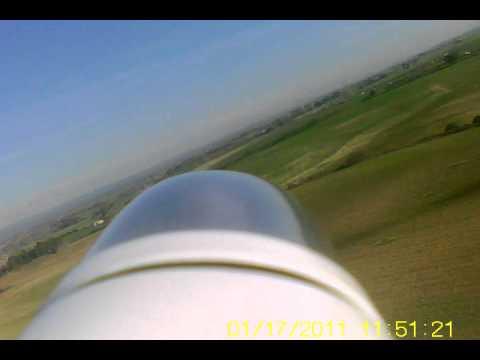 Volo di collaudo con micro telacamera...
