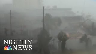Hurricane Michael Brings Flooding & Destruction As It Moves Through FL Panhandle | NBC Nightly News