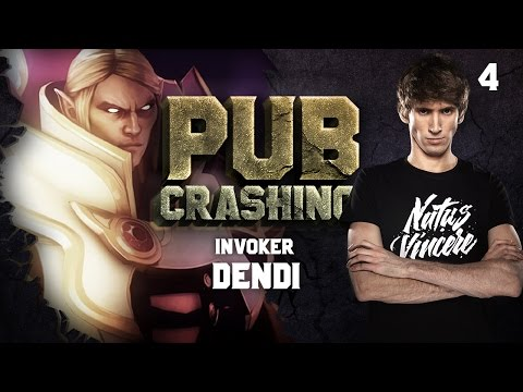 Pubs Crashing: Dendi on Invoker vol.4