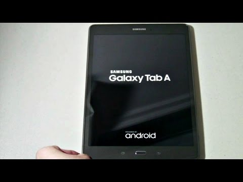 "Samsung Galaxy Tab A 9.7"": Unboxing (Smoky Titanium)"