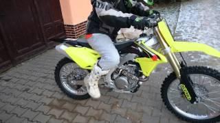 4. RMZ 450 2016 ride