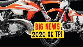 9. KTM did what! 2020 250/300 XC TPI