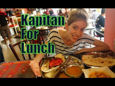 VIDEO: Eating Indian Food in Penang