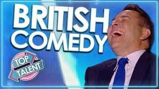 Video 'Can't Stop Laughing' TOP COMEDIANS From Britain's Got Talent! | Top Talent MP3, 3GP, MP4, WEBM, AVI, FLV Mei 2018