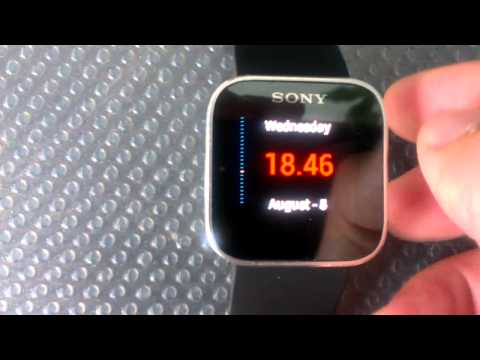 Video of Sun Clock for SmartWatch