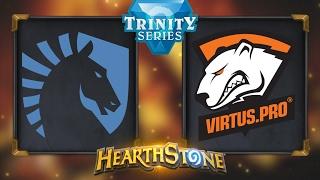 Hearthstone - Team Liquid vs. Virtus.Pro - Hearthstone Trinity Series - Day 6