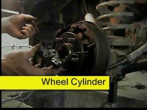 Rear brake wheel cylinder replacement Jeep Wrangler DIY