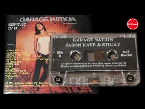 Jason Kaye B2b Sticky & MC's CKP, Creed, Major Ace  - Garage Nation - Halloween - Oct 2001