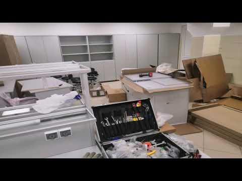 Сборка лабораторной мебели. Часть II