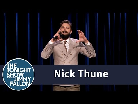 Part 1 - Comedian Nick Thune performs jokes about the time his dog got high. Part 1 of 2. Subscribe NOW to The Tonight Show Starring Jimmy Fallon: http://bit.ly/1nwT1aN Watch The Tonight Show Starring...