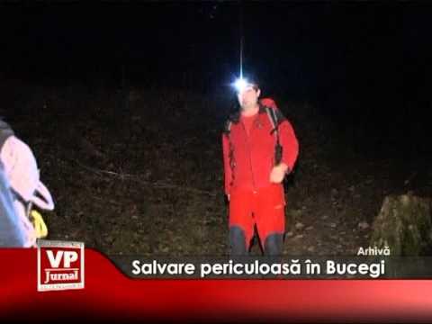 Salvare periculoasă, în Bucegi