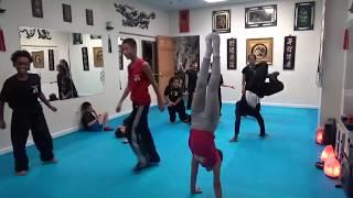 Video Kung Fu Kids - Handstand Challenge - $1 Prize MP3, 3GP, MP4, WEBM, AVI, FLV Maret 2019
