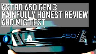 Video New Astro A50 Gen 3 Painfully Honest Review and Mic Test MP3, 3GP, MP4, WEBM, AVI, FLV Juli 2018