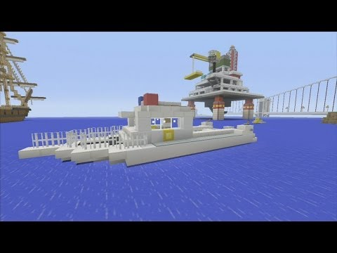 how to make a boat i minecraft
