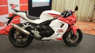 4. Hyosung  GT250R Walk Around Review, Looks, Features and Specifications