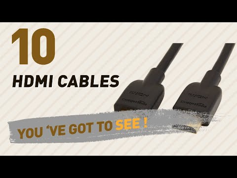Hdmi Cables, Best Sellers 2017 // Amazon UK Electronics
