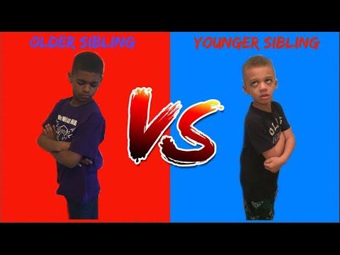 YOUNGER SIBLINGS VS. OLDER SIBLINGS