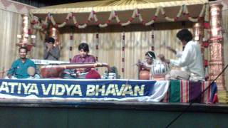 Tabla Solo. Chandrajith&Rajesh Vaidhya Veena Concert Jan 2012  Part 2