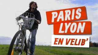 Maxime Musqua - Paris Lyon en Velib' - YouTube