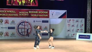 Stephanie Rüegg & René Bachmann - World Masters Moskau 2013
