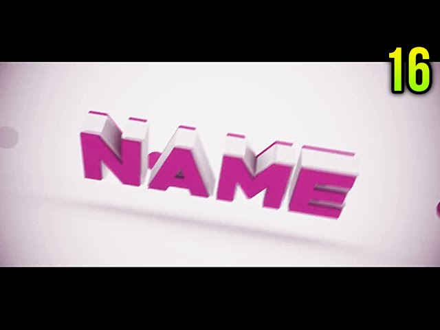 Top 10 Free Intro Templates Cinema 4d After Effects 16 Intro Editable