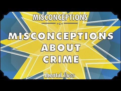 Misconceptions about Crime