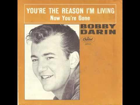 Tekst piosenki Bobby Darin - You're the reason i'm living po polsku