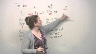Basic English Grammar - TO BE verb