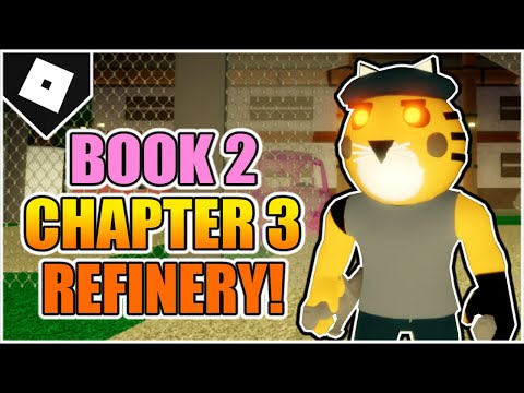 Piggy : Book 2 - Chapter 3 - Refinery Map ESCAPE (How to FINISH!) [ROBLOX]