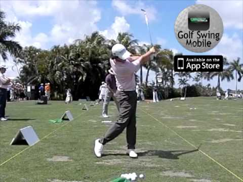 Slow Motion Golf Swing: Rory McIlroy