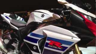 3. 2013 Suzuki GSX-R1000 1 Million Commemorative Edition in White and Red