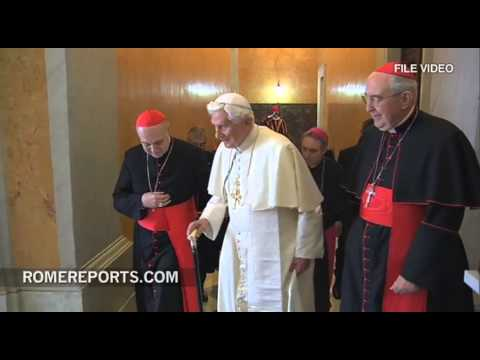 XVI - http://en.romereports.com It has been two months since Benedict XVI left the Vatican by helicopter. In the last few hours of his pontificate Pope Benedict XV...