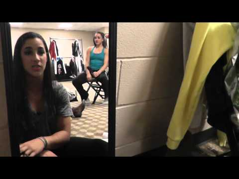 Behind the Scenes With Aly Raisman