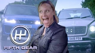 Bentley Bentayga VS Range Rover Sport SVR  - the road test | Fifth Gear by Fifth Gear