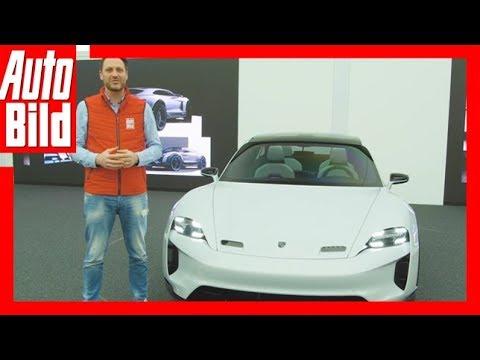 Porsche Mission E (Genf 2018) - Erste Details/Erkläru ...