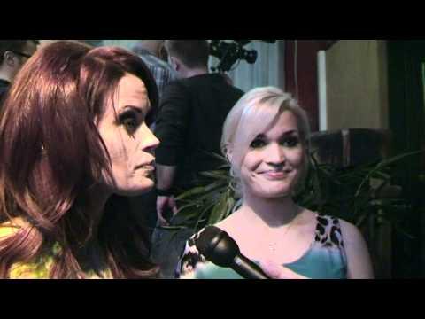 CHAOS TUBE: Viidakon tähtöset haastattelussa Martina & Iida @ Helsinki 1.3.2012 tekijä: TiiaSantavirta