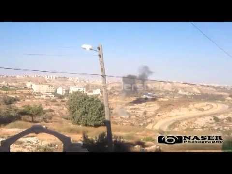 بالفيديو ... صاروخ للمقاومة يسقط في