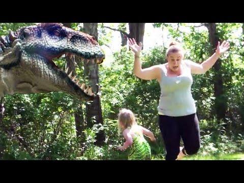 如果在公園看見了真的『恐龍』,你會怎麼做...?