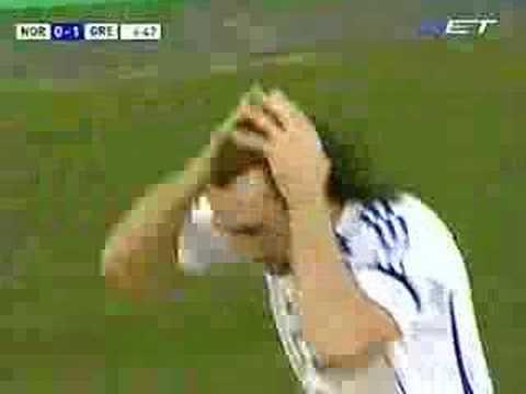 Gol a Noruega en la Eurocopa 2008