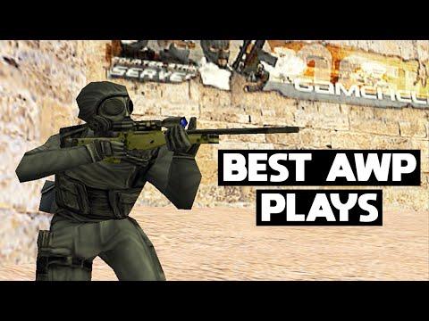 CS 1.6 BEST PRO AWP PLAYS