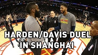 James Harden and Anthony Davis Clash in Shanghai by NBA