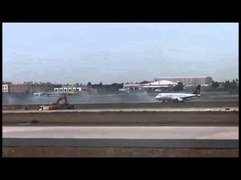 Nouzové přistání Airbusu A320-200 Turkish Airlines v Instanbulu