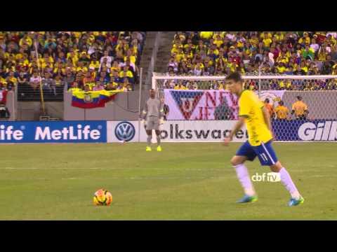 Bastidores de Brasil 1X0 Equador