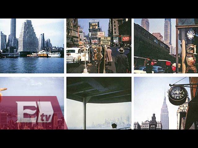 Tamayo, fotógrafo en Nueva York