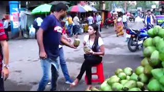 Siliguri India  city images : Best Quality Coconuts - Popular Street Food And Drink Of Siliguri, West Bengal, India