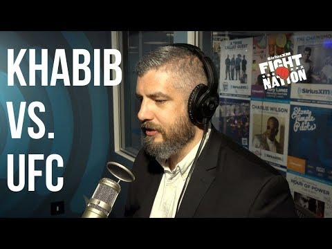 Khabib Threatens UFC Over UFC 229 Brawl | SiriusXM | Luke Thomas