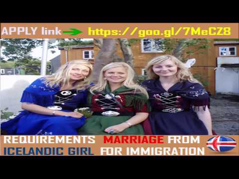 Requirement For Marriage From  Icelandic Girl