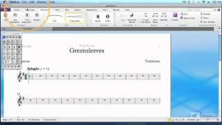 Sibelius 7 101 YouTube video